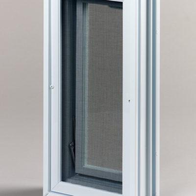 Okienko wentylacyjne 1x2 do luksferów do pustaków szklanych tył